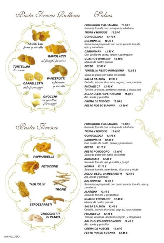 Pasta fresca - Trattoria L'Incontro