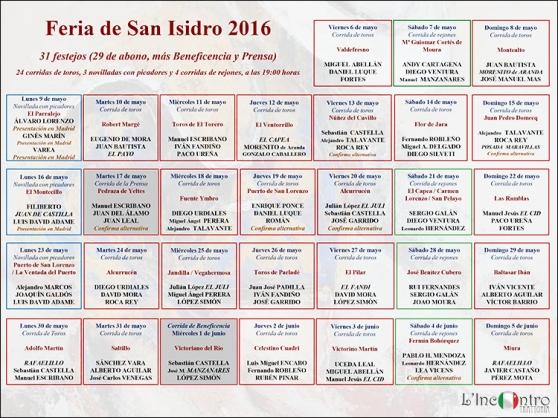 Presentación de la Feria de San Isidro 2014